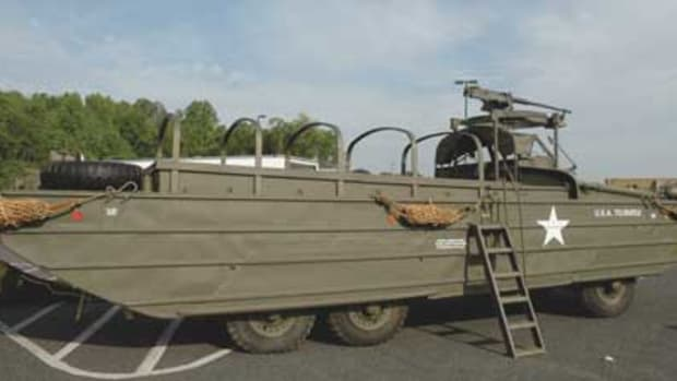 WWII GMC DUKW owned by David Welch.