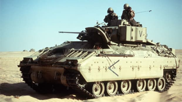 M2 Bradley of the 24th ID.