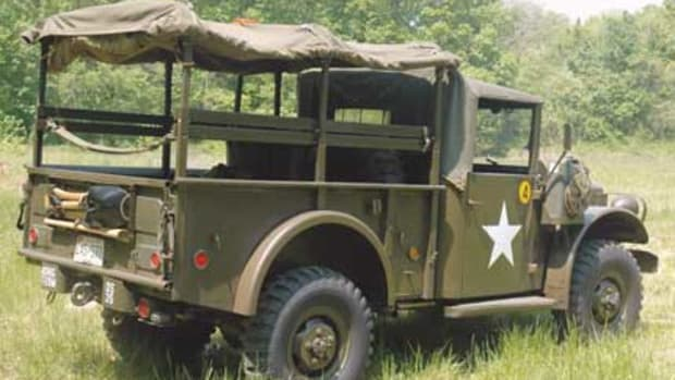 The Dodge M37 3 ⁄4-ton 4x4 truck (G-741) was Dodge's follow-up to their successful WC Series from World War II. Introduced in 1951, it was used extensively by the United States armed forces during the Korean and Vietnam Wars.
