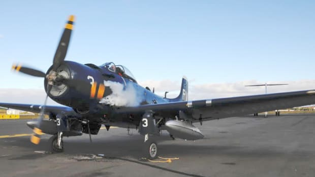In 2009, Federal agents seized Claude Hendrickson's Korean War-vintage AD-4N Skyraider.
