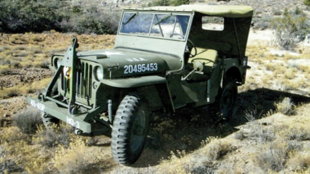 Alan Christenson about six years to restore his 1942 GPW.