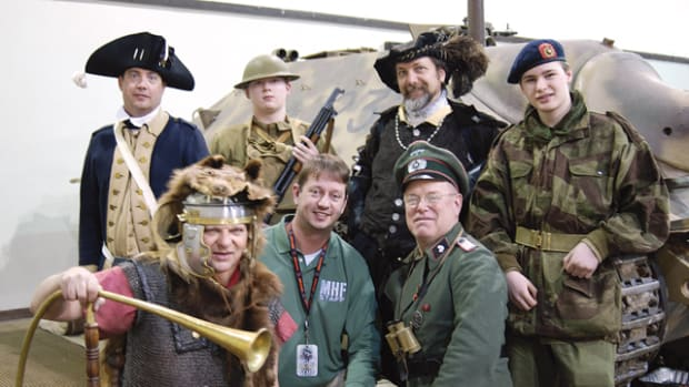 If there was a military event that occurred in the last 400 or 500 years, there are probably people who reenact it today! Before you begin acquiring items to reenact, find a group that share your particular military history passions. Photo by John Adams-Graf
