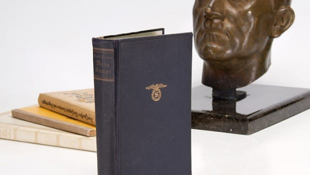 Adolf Hitler's copy of Mein Kampf.