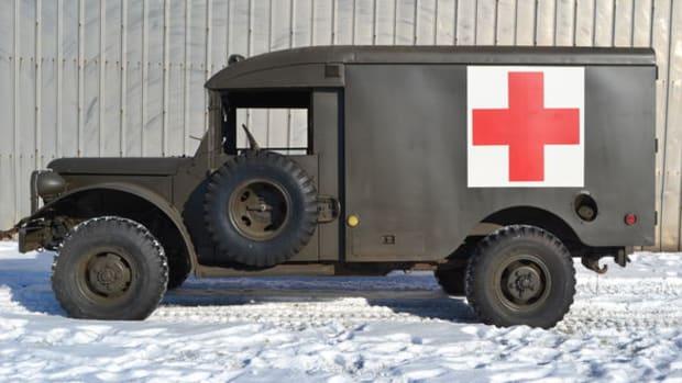 1953 Dodge T-245 M-43 Ambulance