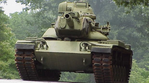 An M60A2 Tank is just one of the artifacts in the collection of military tanks and other military artifacts that will be housed in a new useum in West Liberty, Ohio.