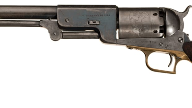 U.S. Military Contract E Company No. 120 U.S. Colt Model 1847 Walker Percussion Revolver: The Last Martial Colt Walker Manufactured and One of the Finest Martial Examples Extant