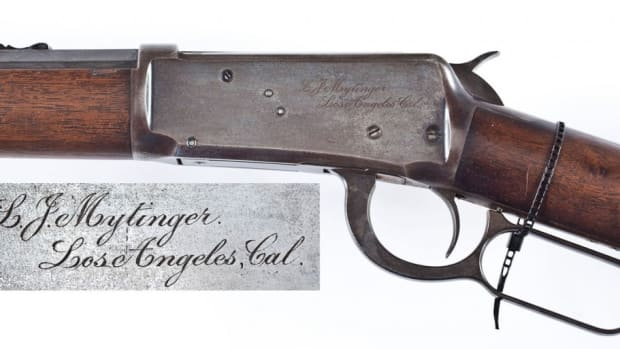 Name Inscribed 1894 Winchester (estimate $4,000-$6,000)