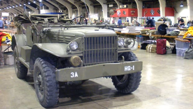 The West Coast Military Collectors Show is a perfect blend of historical relics, living history and historic military vehicles.