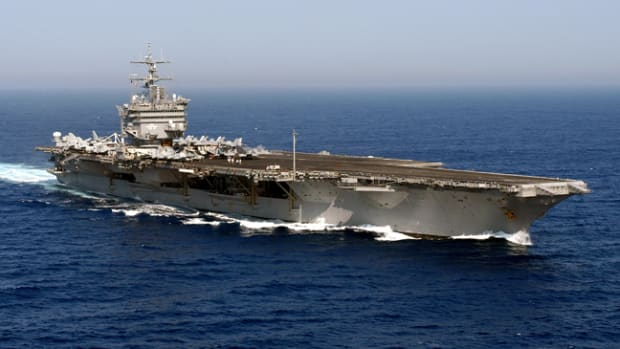 Image released by LT K.R. Stephens, PAO CVN 65.