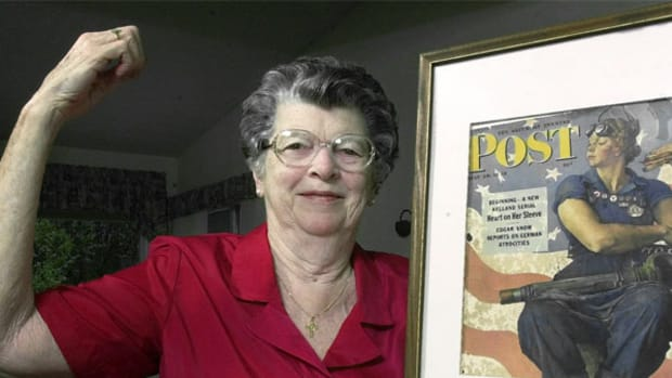 Mary Doyle Keefe, who posed for Normal Rockwell's depiction of Rosie the Riveter, has died.