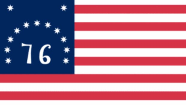 """Back in 1976 at the height of the Bicentennial of the United States, my Dad purchased a reproduction """"Bennington"""" Flag to fly outside of our grocery store. It was back then that I began to wonder about US flag protocol."""