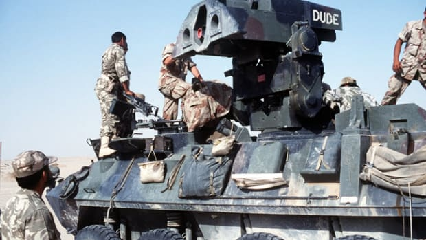 LAV-AT in Operation Desert Storm, 1991