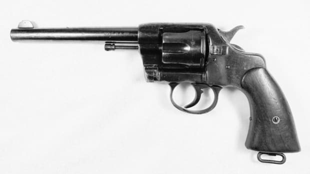 This 1901 Colt military revolver, was destined to end up in my collection...I just had to figure out why!