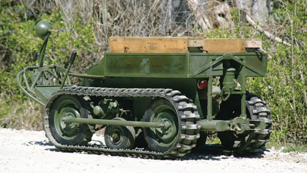 This prototype of a 1943 Crosley Mule T-37 certainly looks the part of a rugged military-destined machine despite failing the required testing at the Aberdeen, MD proving grounds.