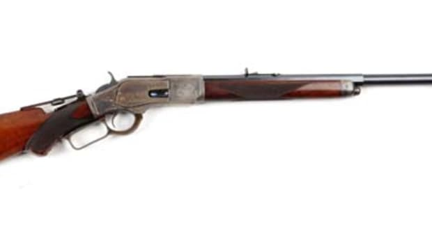 Fine Winchester Model 1873 Deluxe Sporting Rifle