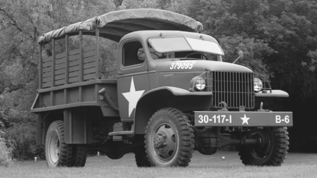 Tim Scobie always loved the 1-1/2-ton Chevrolet G-506. His dad drove one in the Army Reserves in the 1960s. When one came available for sale in Colorado, he snapped it up and hired MV Specialties of Hastings, Minnesota, to restore it.