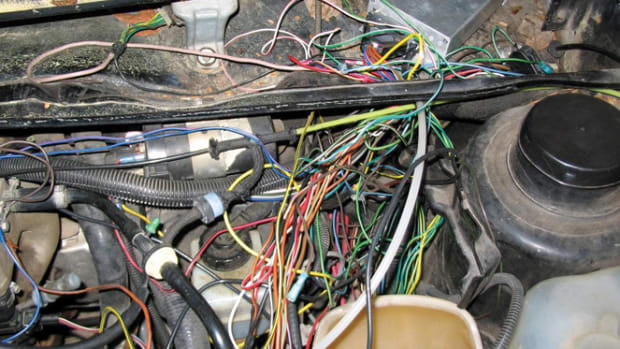 "Wires or hoses that are not controlled are prone to chafe. Follow this ""Modified Work Order"" to avoid failure as a result of worn-through wiring and plumbing."