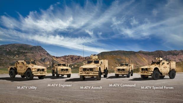 Oshkosh Defense trucks