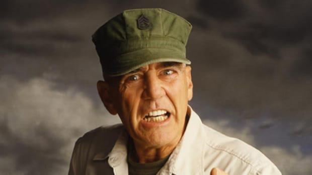"""R. Lee """"The Gunny"""" Ermey"""