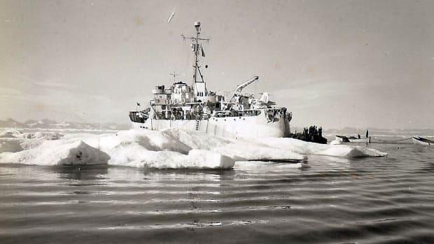 USCGC Storis serving during World War II.