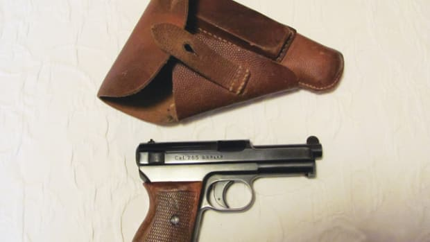 This Mauser 7.65 pistol was captured in southern France during Operation Dragoon, in August 1944. A written account by the veteran who captured it creates a mystery about the German who originally owned it.