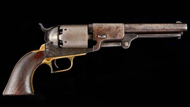 Colt Whitneyville Hartford Transitional Walker Model Dragoon Revolver