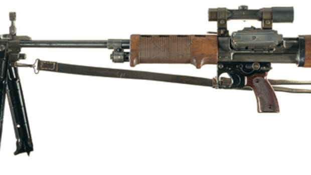 This original German FG42 light machine gun with numerous accessories had the attention of bidders from around the world. This amazing piece of firearms and military history would have a new home for the sum of $299,000.