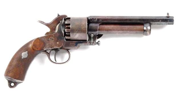 Paris Second Model LeMat Revolver