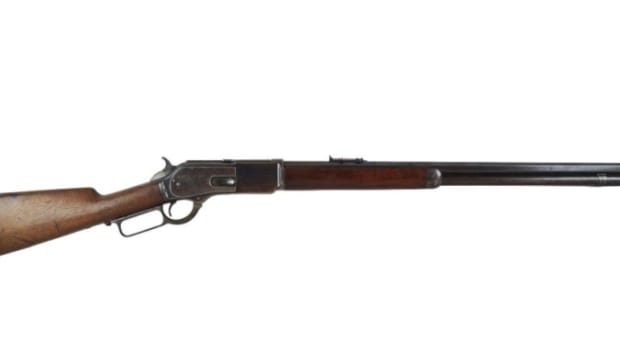 Bill Dalton's 1876 Winchester 45-60 Ser # 23082 Lot 150 May 5th, 2013
