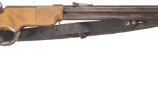 Lot 1000: Civil War New Haven Arms Henry Lever Action Rifle. Estimated Price: $18,000-$27,500