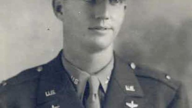 This 1944 official portrait of Army Air Corps Lt. Robert Eugene Oxford was released by the U.S. Army.