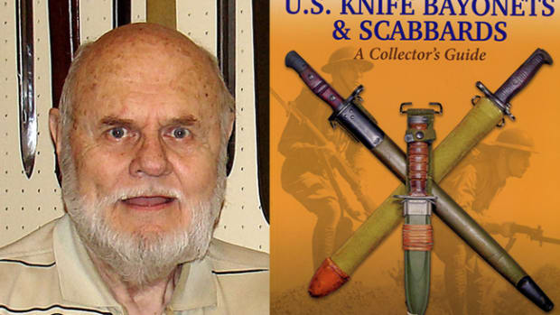 Gary Cunningham first published American Military Bayonets of the 20th Century in 1997. He has recently republished the book in an entirely new, reworked, and updated format.