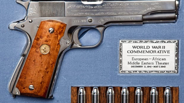WWII Commemorative Pistol ($600-900)