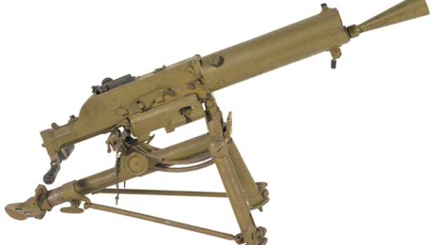 LOT547 - Steyr Schwartzlose Model 07/12 Machine Gun with Tripod