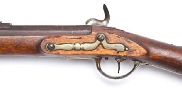Early 19th Century Hesse-Hanau Fry-Core Type Rifle ($1,200)