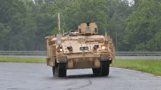 BAE-produced AMPV undergoing tests by the US Army.