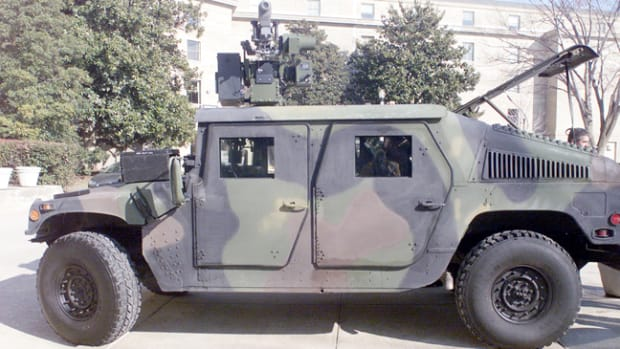 Beyond the inherent dangers of operating a soft-skinned vehicle in a combat environment, gunners in particular are vulnerable to snipers, IED blasts, and roll-overs due to their exposed position. In response to these problems, the Up-armored Humvee has been developed, which offers protection against most small arms fire, shrapnel and anti-personnel mines.
