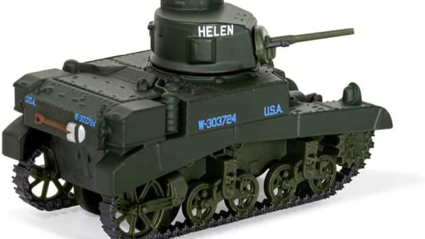 "Corgi ""Fit the Box"" Scale M3 Stuart for $12.99"