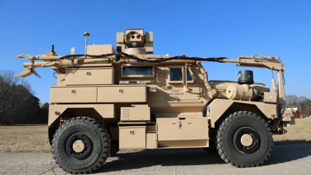 Cougar MRAP Recovery of Airbase Denied by Ordnance (RADBO)