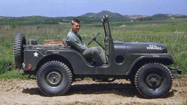 M38A1 in Korea ca 1954red