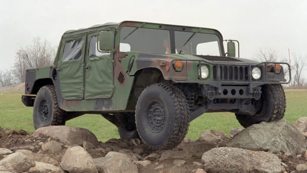 HMMWV bottom