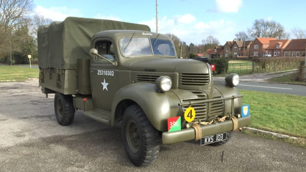 Right side, restored Dodge D15