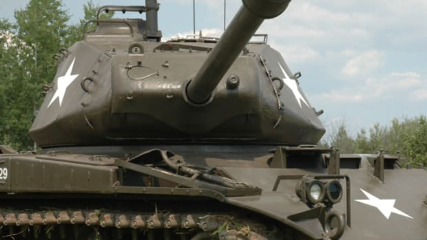 M41 restored by Fort Snelling Museum Volunteers