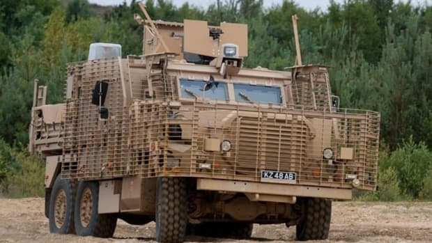 British MRAP. Maybe my next truck?