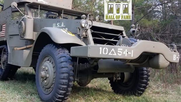 M2A1 Half-track with HoF logo