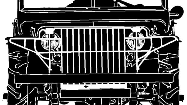 Jeep alone