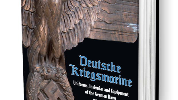 Deutsche Kriegsmarine, Uniforms, Insignias and Equipment of the German Navy 1933-1945, by Eduardo Delgado (ISBN: 978-8496658592, Andrea Publishers, Madrid,. Spain.)