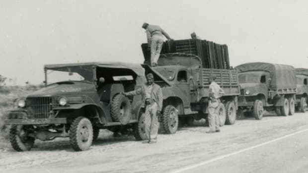 47th Quartermaster Co Convoy 1941
