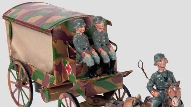 Toy German horse-drawn ambulance sold for $450 in 2015