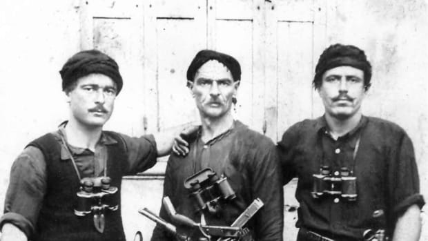 Greek Partisans on Crete 1941